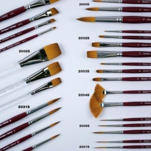 Brushes by Medium