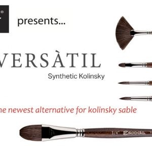 Escoda Versatil Synthetic Kolinsky-Short Handle