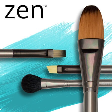 Royal Zen Series 53: Acrylic & Oil Brushes Long Handle