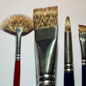 Royal Sable Brushes Short Handle