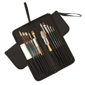 Tuscany Deluxe Brush Case LH-Black