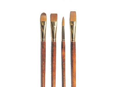 Richeson Kolinsky Sable Oil Brushes